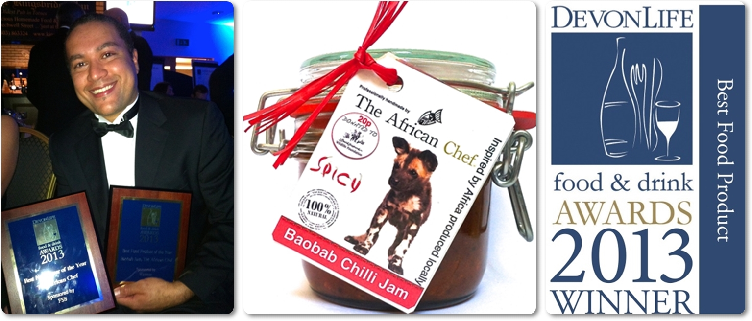 African Chef scoops awards with Baobab Chilli Jam!