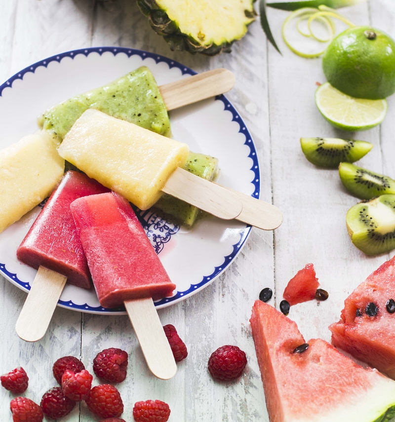 fruity baobab ice lolies