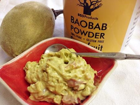 Baobab recipe: Africa meets Mexico = Bao-Guacamole!