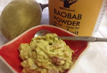 Guacamole and Baobab Powder