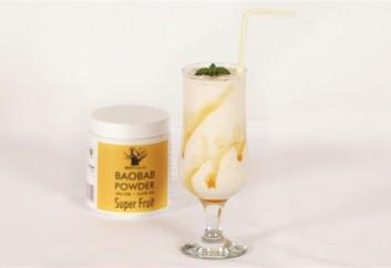 Baobab and Honey Milkshake