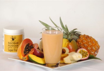 Baobab and Tropical Smoothie