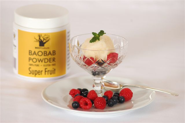 Baobab Sorbet – make an impression!