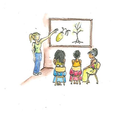 Teachers are enrolled into a one-year ECD mentorship program with Sumbandila Trust.