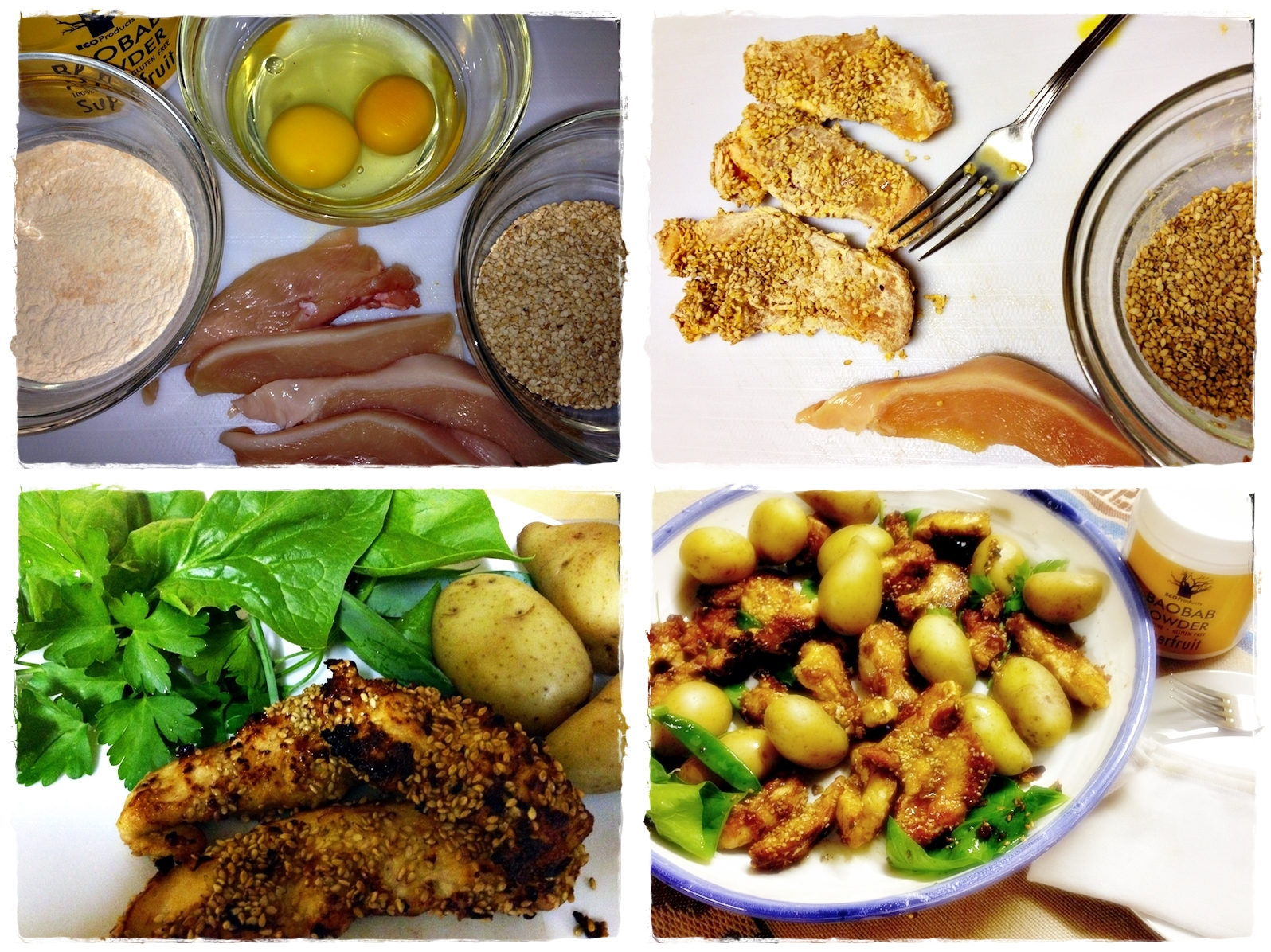 Baobab-Chicken: gluten-free!