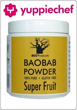 Baobab powder now available on Yuppiechef!