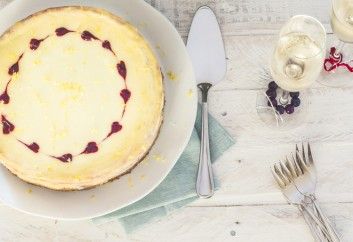 Lemon Berry Baobab Cheese cake