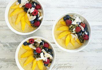 Mango bao-berry smoothie bowl