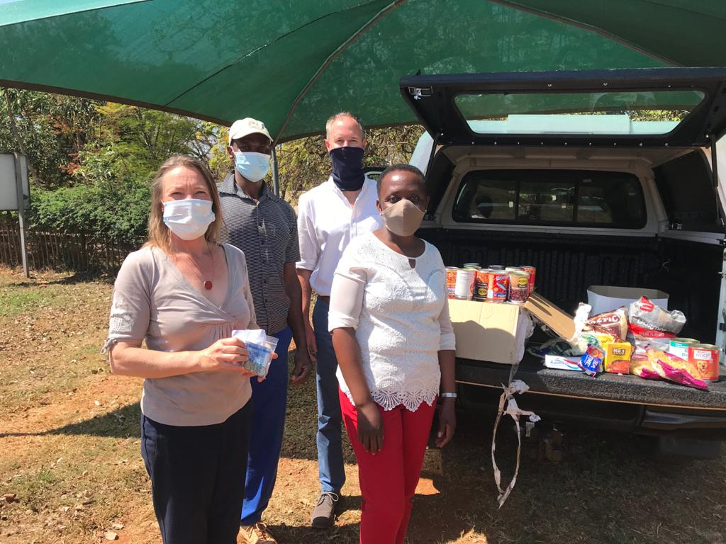 Mandela Day: Food Donation from Ridgeway Prep School to Mukovha wa Bale Creche