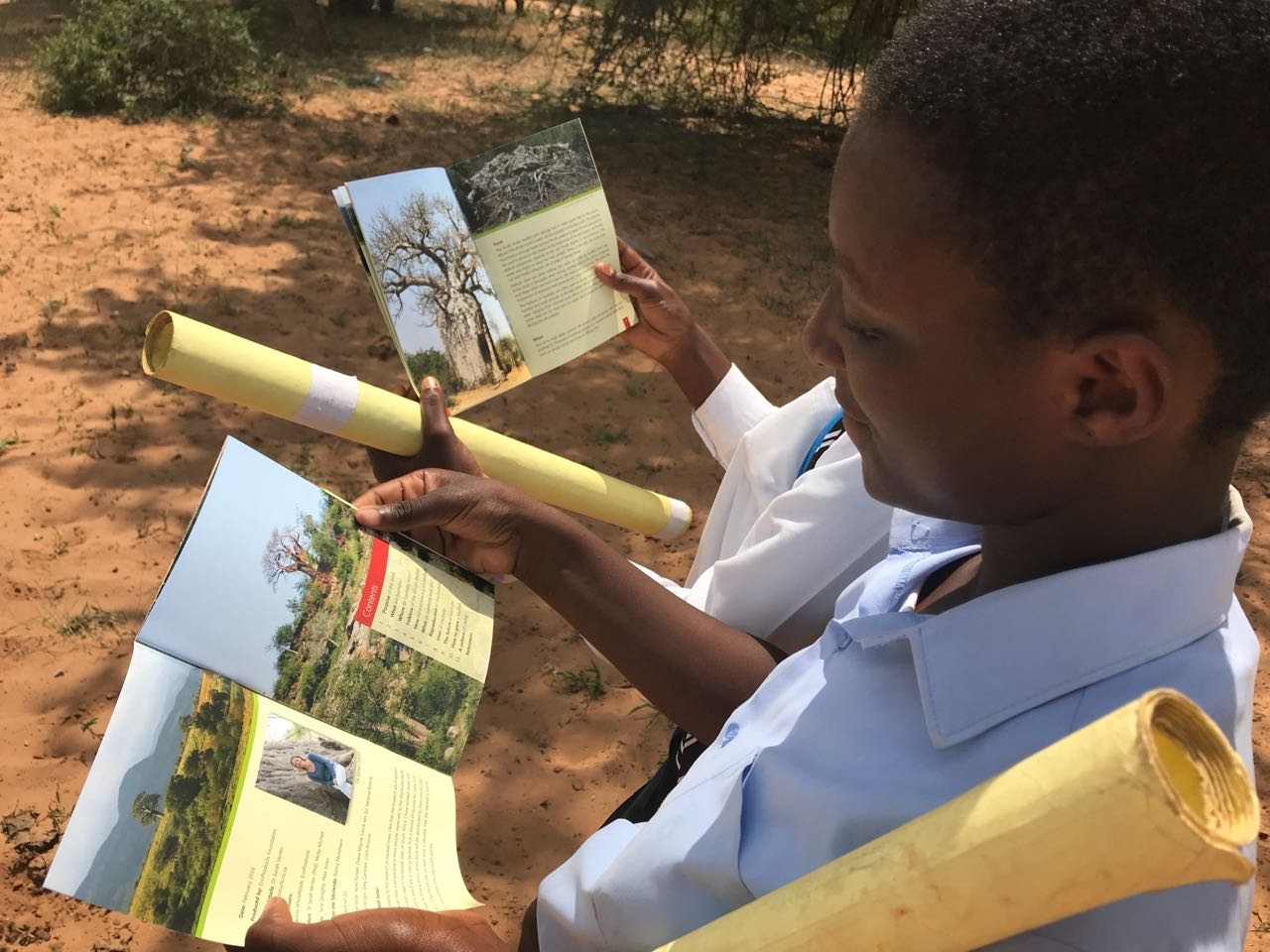 2018 April: The Little BIG BAOBAB Book spreads its wings