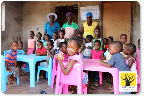 Ecoproducts and Esse support rural crèche