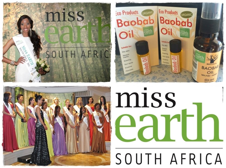 Miss Earth SA and EcoProducts – Green Queens all!