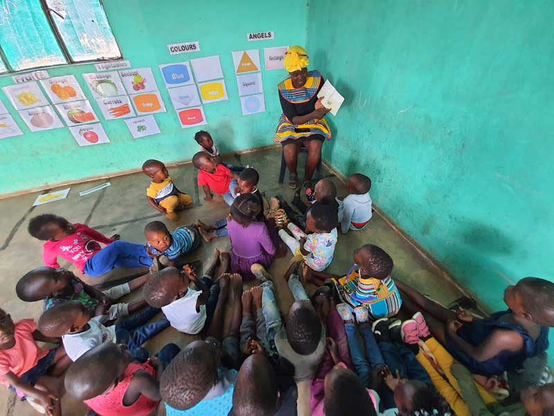 Kids over the moon with new storybooks in Tshivenda